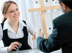 A human resource assistant may be responsible for the hiring of new employees.