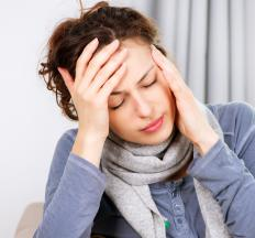 Headaches are a common side effect of estradiol.