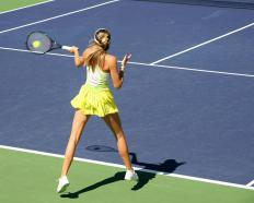 Tennis instructors usually have significant playing experience themselves.
