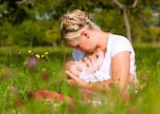 The prolactin hormone regulates breastfeeding in women.