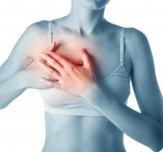 Many types of breast nodules can be painful.