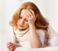 Fever and dizziness may accompany a sinus infection.