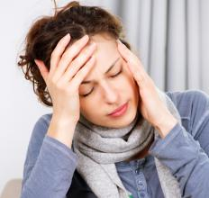 Severe headaches can be a symptom of neuropsychiatric lupus.
