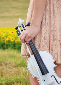 The violin is sometimes referred to as a fiddle, usually in the context of country or bluegrass music.