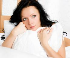 Individuals suffering from fibromyositis may experience difficulty sleeping.