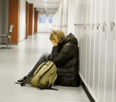 School counselors may help students talk through emotional issues they are facing.