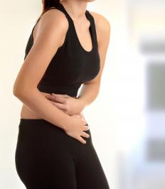 Simethicone may cause stomach pain.