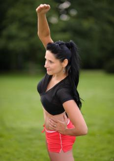 Basic stretching may provide relief to people with back pain.