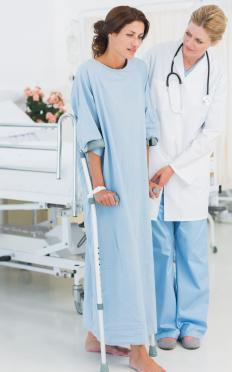 A person may purchase health and life insurance to guarantee payouts in the event of injury or sickness.