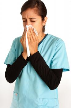 Bilateral pneumonia is spread when an infected person sneezes or coughs around other people.