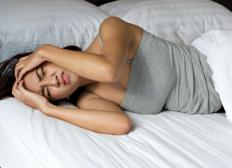 Headaches associated with brain tumors are worse in the mornings and can even wake a person up from a sound sleep.