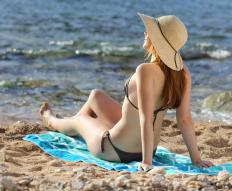Exposure to the sun's rays can cause photodermatitis or another reaction, particularly among fair-skinned sunbathers.