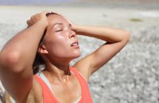 Heat syncope can occur in people who exercise vigorously in the heat.