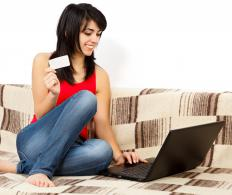 Electronic commerce means exchanging money for goods or services over electronic networks.