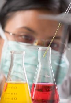 Sulfuric acid titration uses sulfuric acid to analyze an unknown substance.