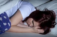 Emotional trauma may cause people to have trouble sleeping.
