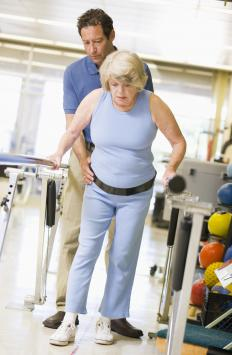 People who have been injured may have some form of physical therapy as adjunct to the care received by physicians.