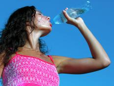 Drinking water may help dilute excess sugar in the body.