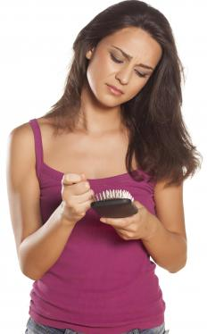 Excessive hair twirling can cause hair loss and breakage.