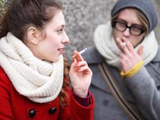 Smoking may put someone at particular risk for developing atherosclerosis.