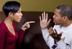 A person who feels they are the victim in a relationship will often blame all issues on their partner.