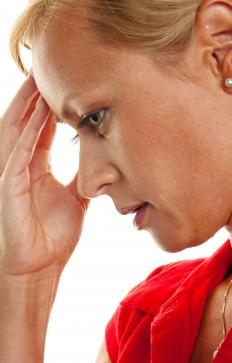 Auditory hallucinations may lead to delusional thinking.