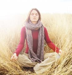 Meditation can be used to fight cancer symptoms.