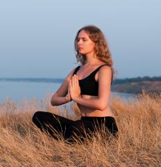 Meditation is an important part of hatha yoga.