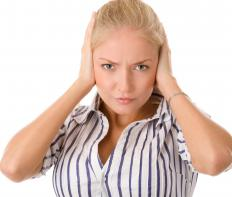 A constant loud noise can result in high levels of stress.