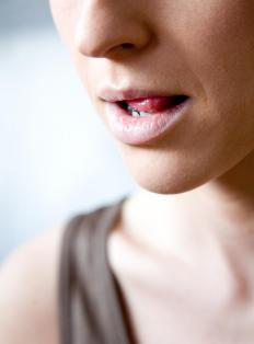 Dry mouth may be a symptom of hyperglycemia.