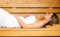 A traditional sauna may reach much higher temperatures than the IR version.