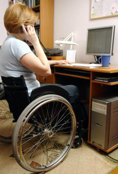 People with certain disabilities may receive benefits from the Social Security Administration.