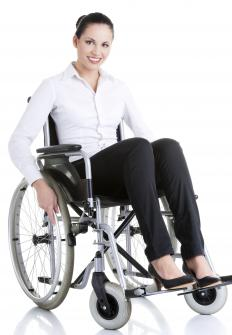 Many hotels aren't adequately equipped to handle the needs of people who are wheelchair bound.
