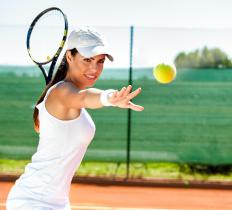 Tennis players often become tennis coaches at the high school or college level after they retire from active competition.