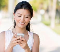Teens often use microblogging services to stay connected with friends.