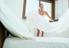Waterproof bedding is designed to protect the mattress from stains.