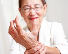 Stiff fingers can be caused by rheumatoid arthritis, a condition in which the body's immune systems mistakenly identify cells in the joints as harmful.