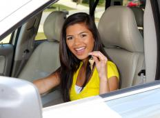 New cars have a distinctive smell which is caused by offgassing.