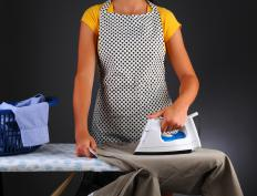 Private housekeepers handle chores like laundry and ironing.