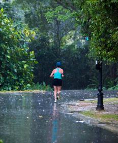 Waterproof pouches are best for runners who often get caught in rainstorms.