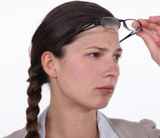 People with myopia have trouble seeing objects at a distance.