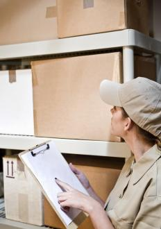 RFID tracking can help cut down the time warehouse personnel spend managing inventory.