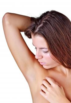 Many women choose to remove their underarm hair.