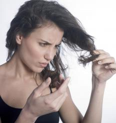 Hair that is teased on a regular basis may become broken and damaged.