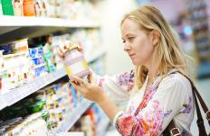 Reading labels carefully can help to identify hidden casein in non-dairy products.