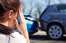 Drivers involved in a car accident will need to contact their insurance providers about compensation.