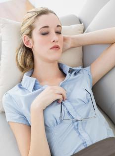An overall feeling of fatigue and tiredness may be referred to as general weakness.
