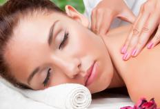 Endorphins are released during any relaxing activity, such as getting a massage.