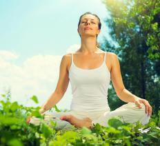 Practicing yoga may help prevent individuals from feeling anxiety while on prednisone.