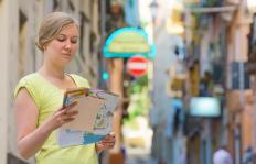 Travel writers often produce guidebooks for certain cities.